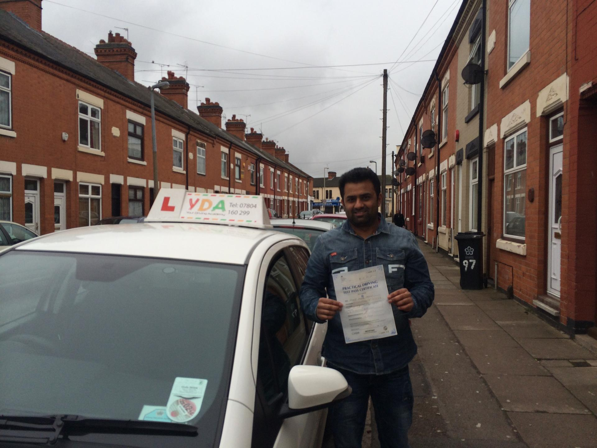 Driving Schools Leicester - Mr Shareef