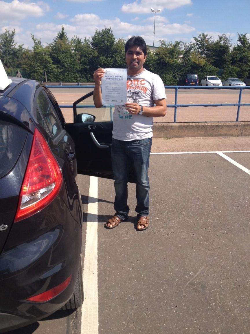 Driving Lessons Leicester - Kamlesh Bana