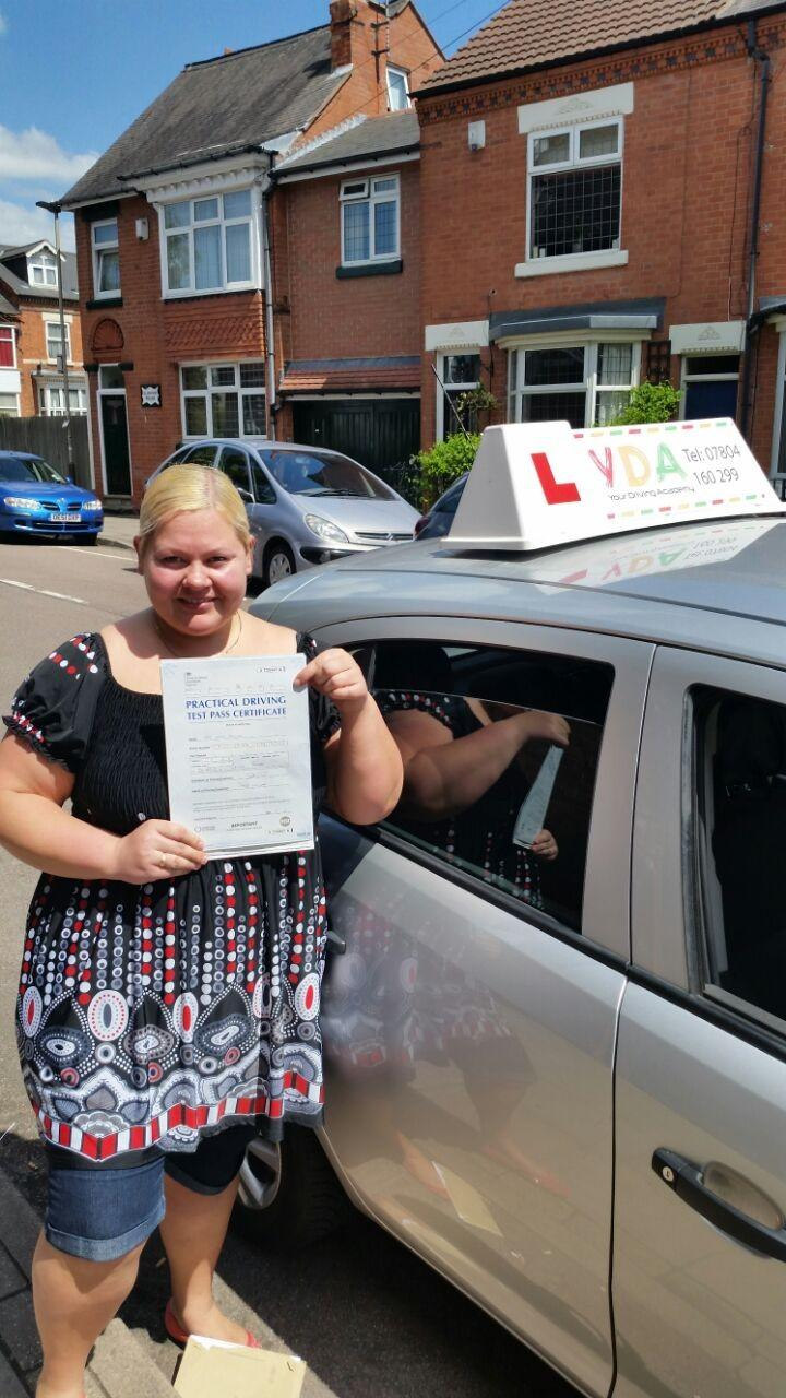 Driving Lessons Leicester - Inese Kroica