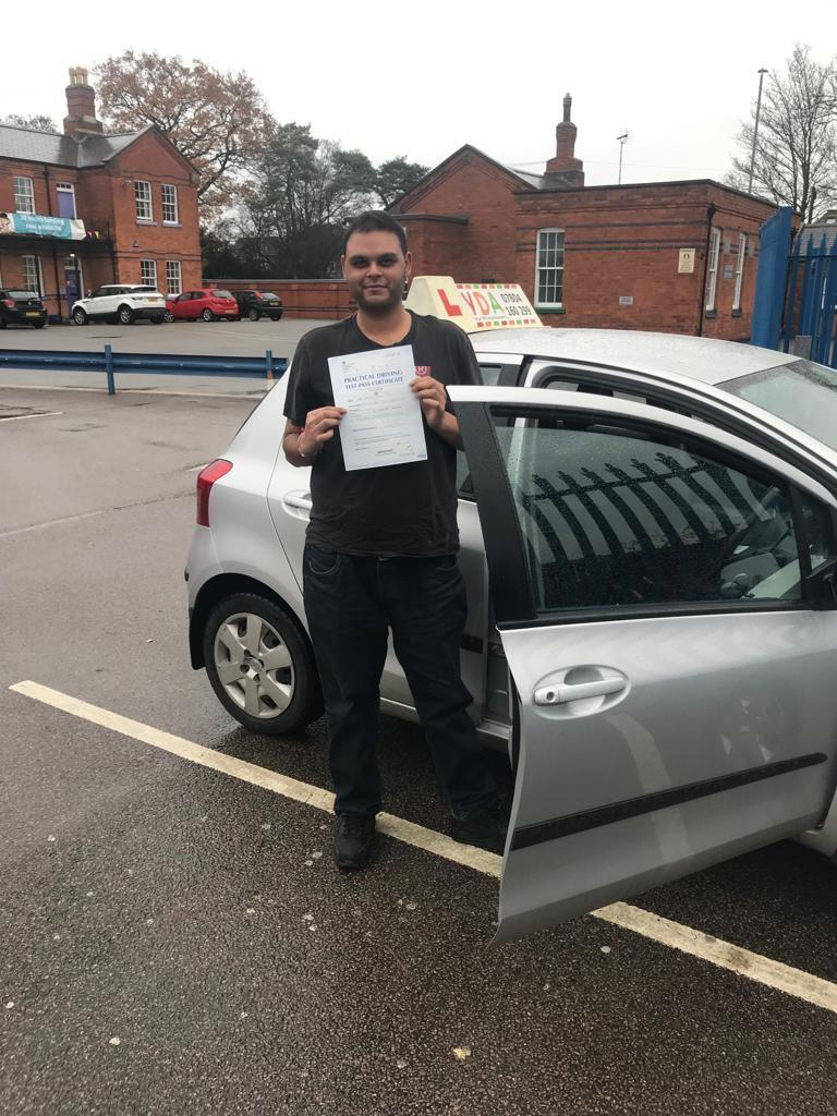 Driving Lessons Leicester - Rikesh Patel