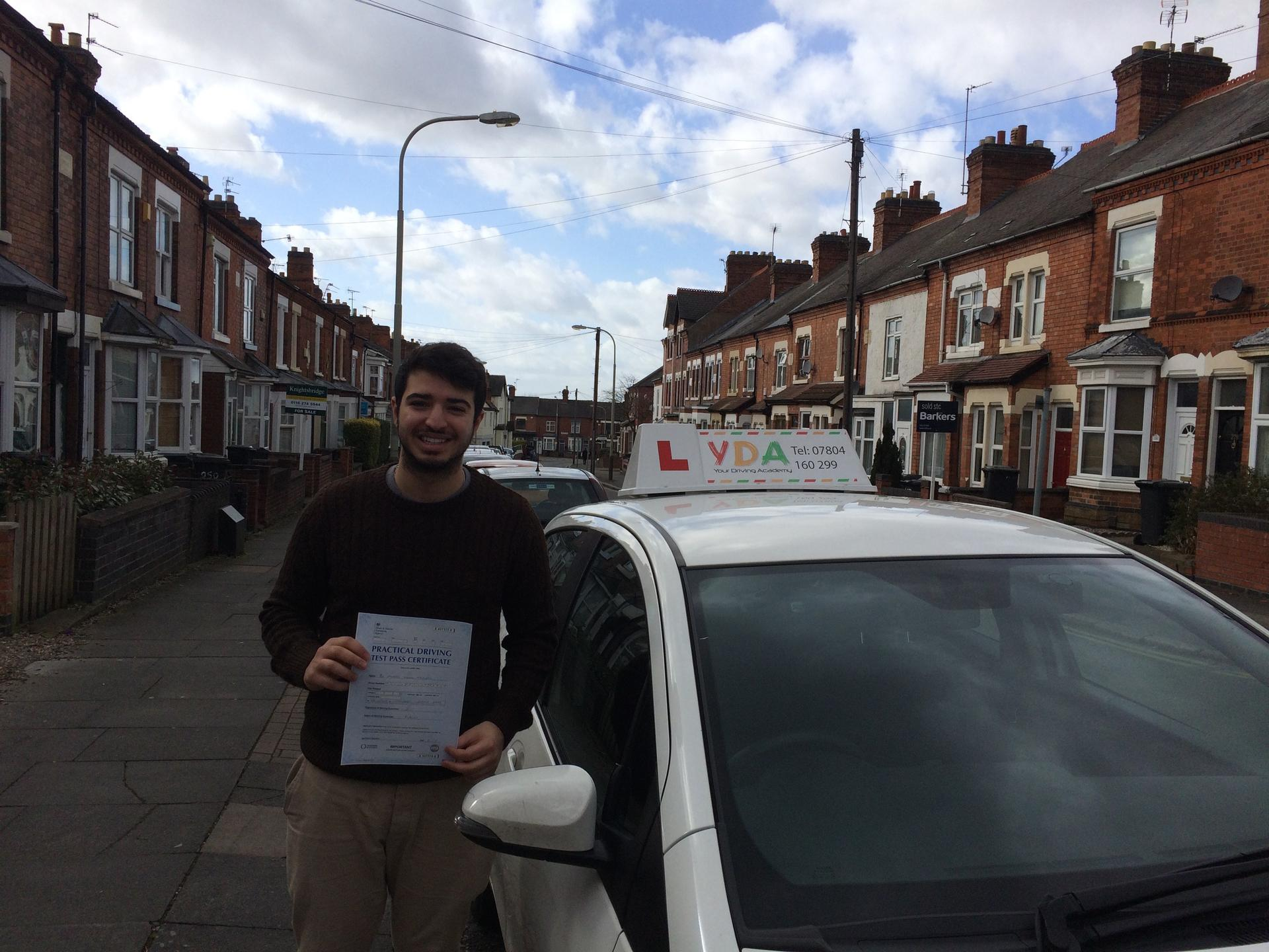 Driving Schools Leicester - Michael Andrew