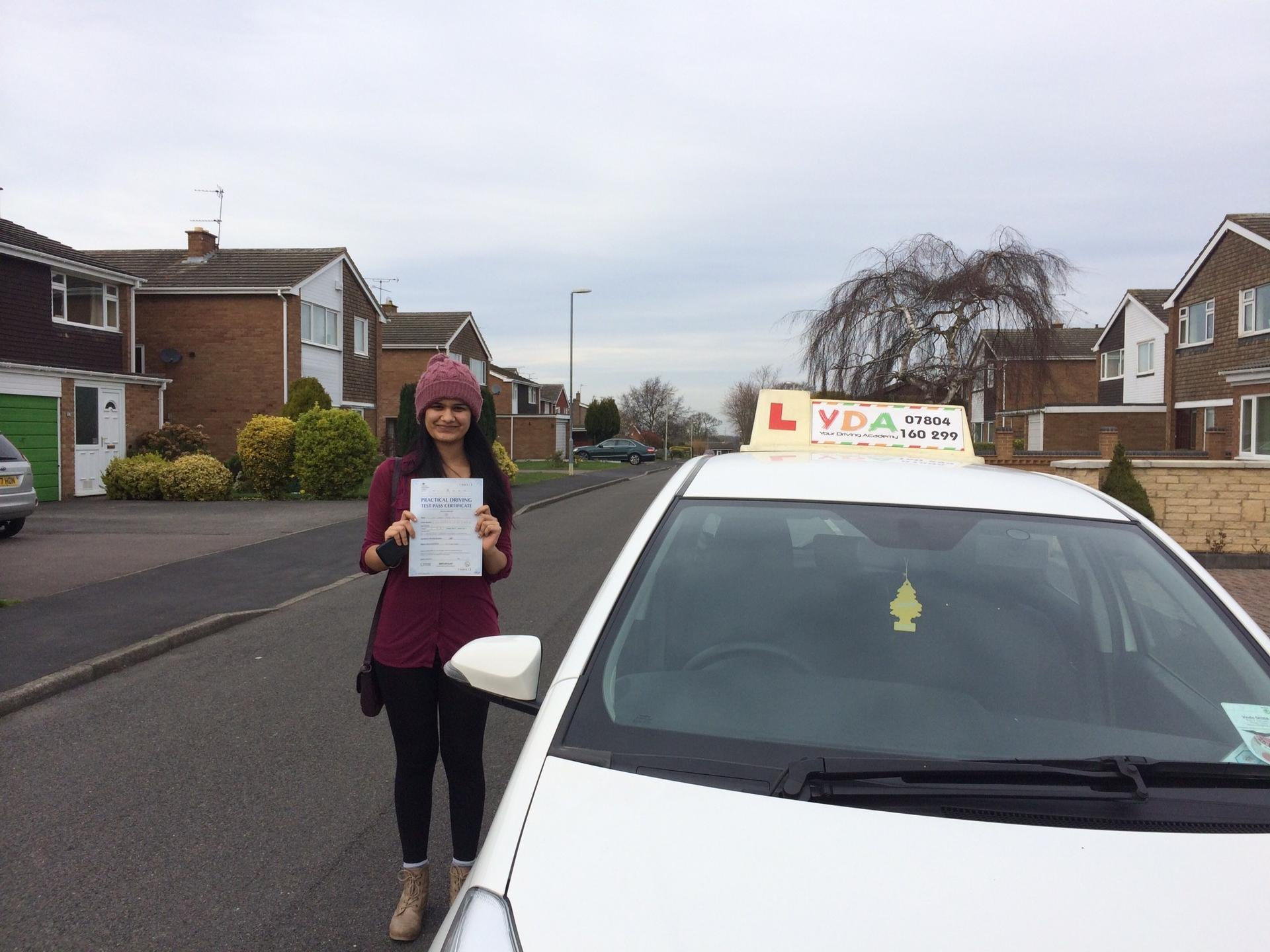 Driving Instructors Leicester - Simran Ghuman