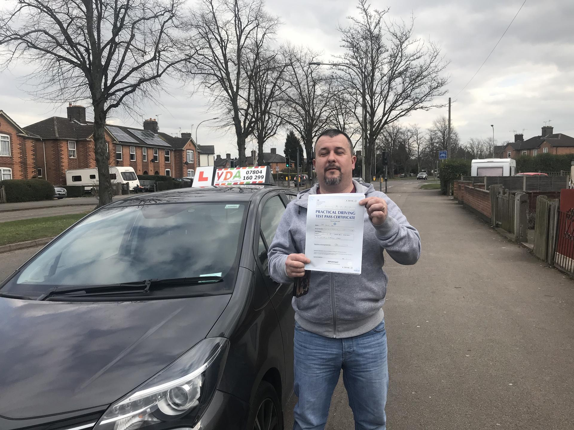 Driving Lessons Leicester - John Toms