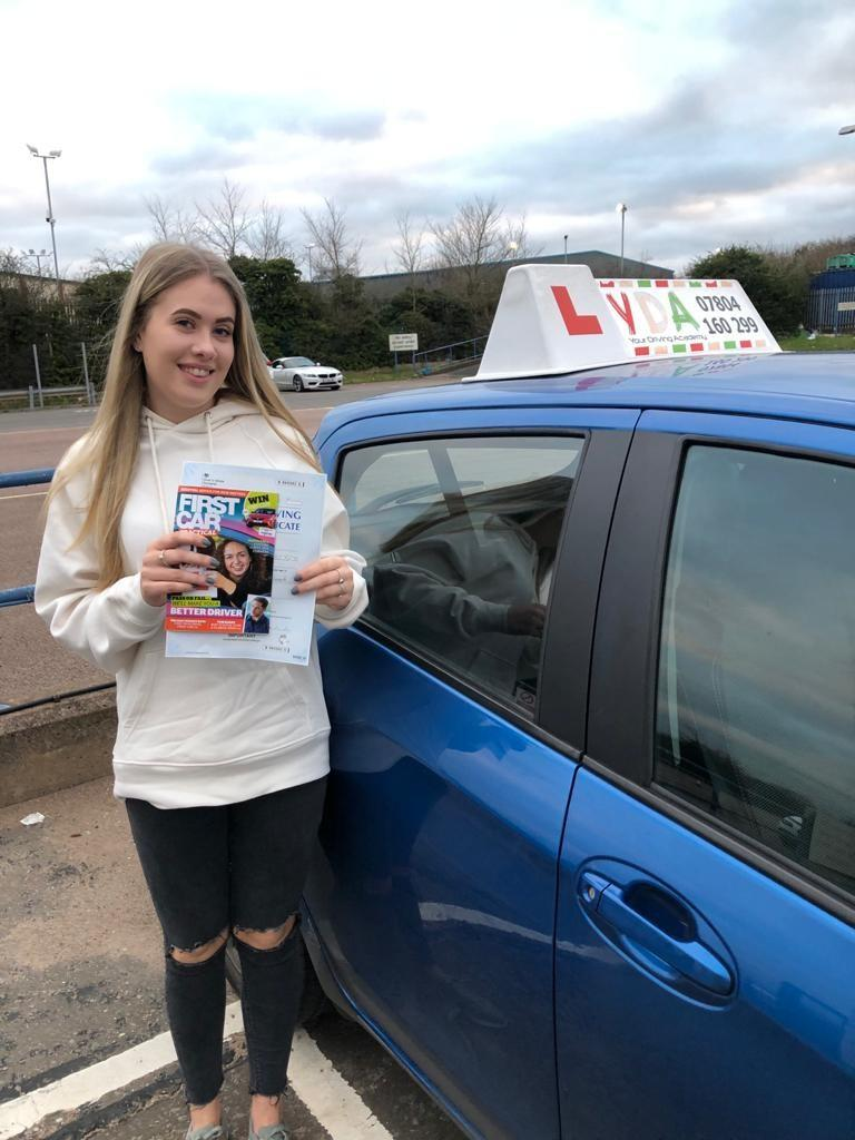 Automatic Driving Instructors Leicester - Megan