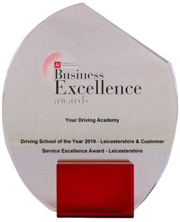 Driving Schools Leicester Award - Your Driving Academy
