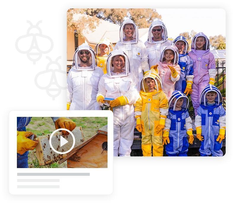 Online Beekeeping Club & Mentoring