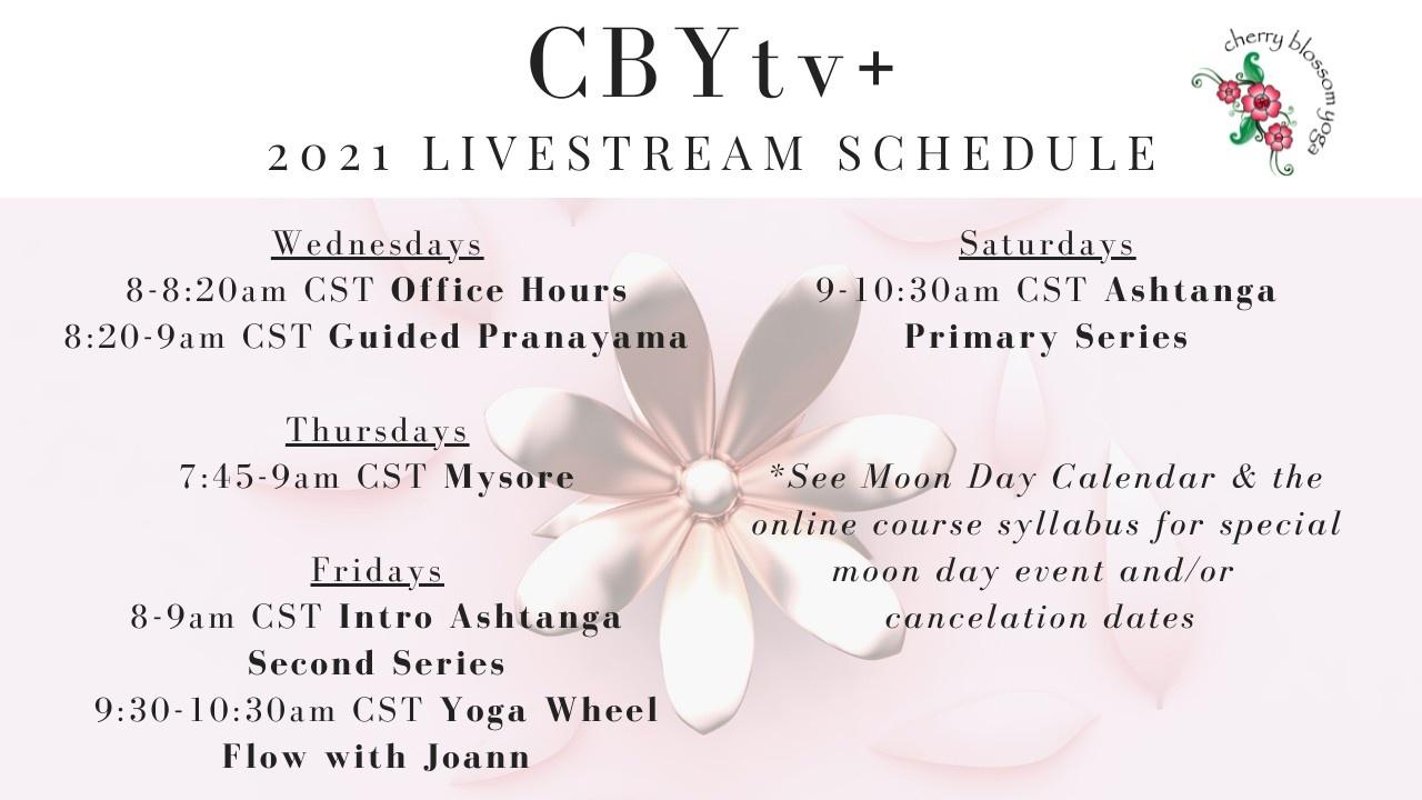 CBYtv+ schedule