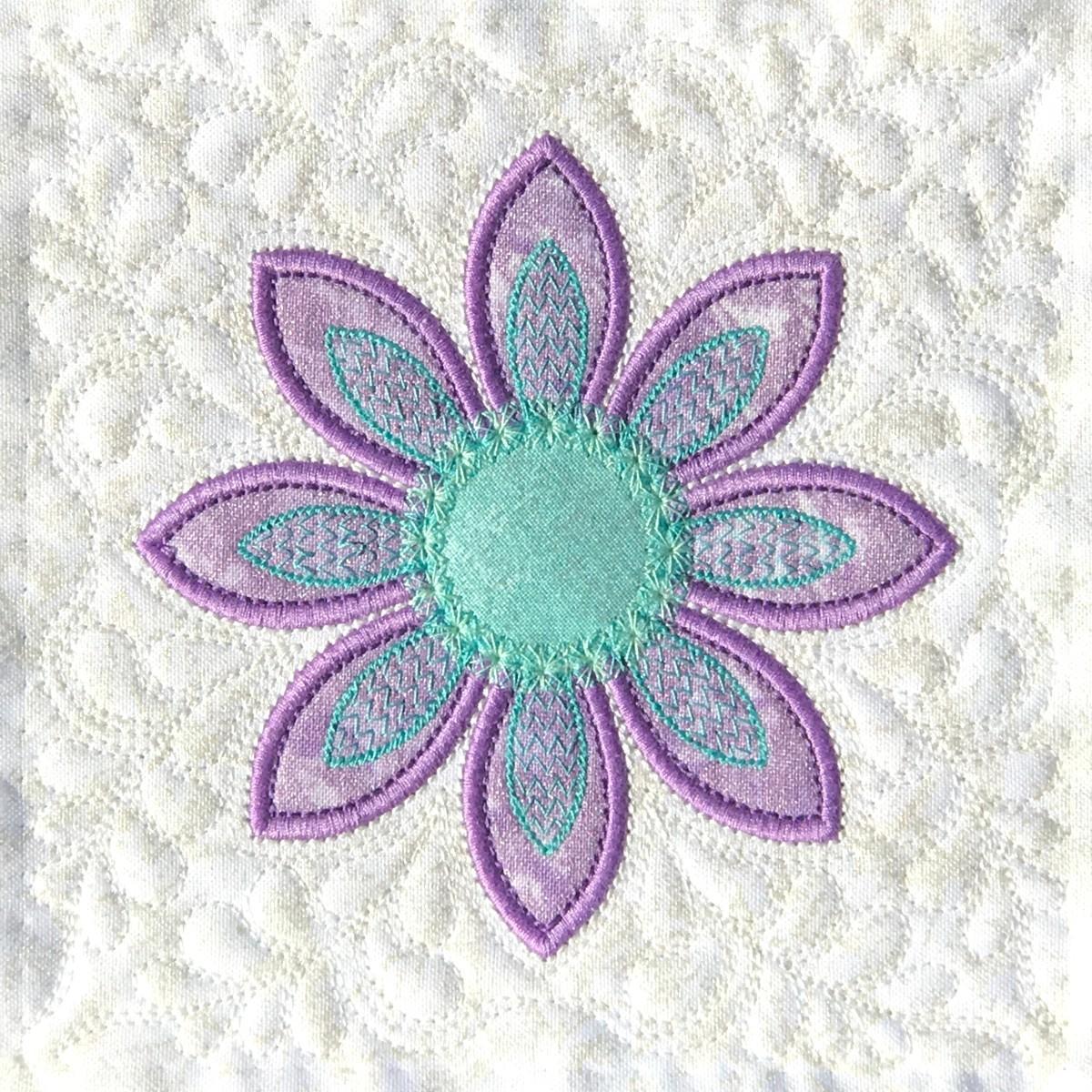 FREE Machine Embroidery Applique Design