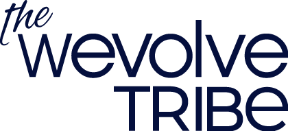 The wevolve tribe logo