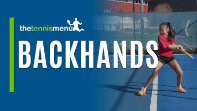 Backhand Drills