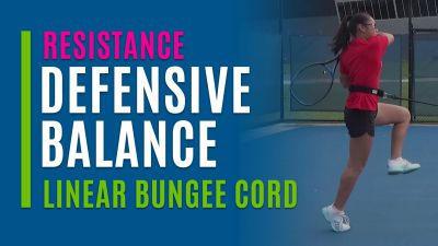 Defensive Balance (Linear Bungee Cord)