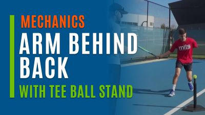 Arm Behind Back (With Tee Ball Stand)