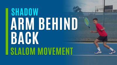 Arm Behind Back (Shadow Slalom Movement)