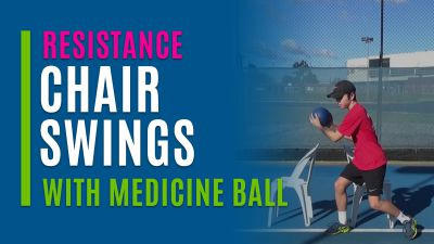 Chair Swings (With Medicine Ball)