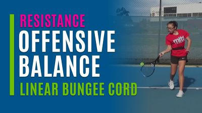 Offensive Balance (With Linear Bungee Cord)