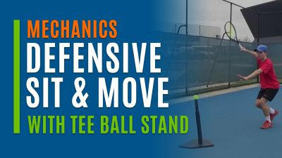 Defensive Sit & Move (With Tee Ball Stand)