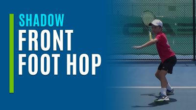Front Foot Hop (Shadow)