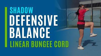 Defensive Balance (Shadow Linear Bungee Cord)