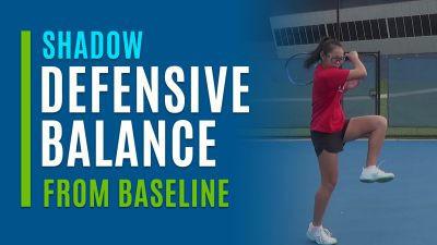 Defensive Balance (Shadow from Baseline)