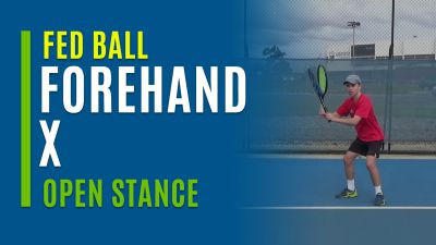 Forehand X (Open Stance)