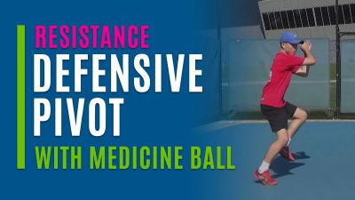Defensive Pivot (With Medicine Ball)