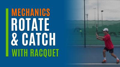 Rotate Catch (With Racquet)