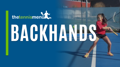 Backhands - The Tennis Menu