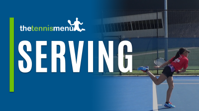 Serving - The Tennis Menu