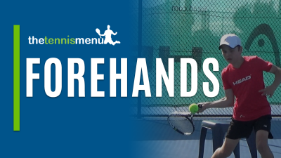 Forehands - The Tennis Menu