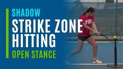 Strike Zone Hitting (Shadow with Open Stance)