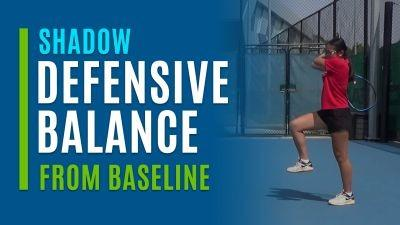 Defensive Balance (Shadow from Baseline)