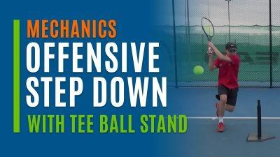 Offensive Step Down (With Tee Ball Stand)