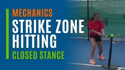 Strike Zone Hitting (Closed Stance)