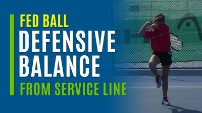 Defensive Balance (From Service Line)