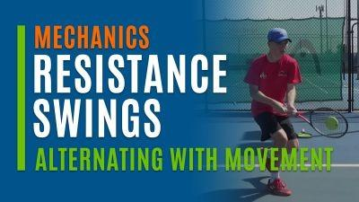 Resistance Swings (Alternating with Movement)