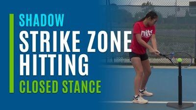 Strike Zone Hitting (Shadow with Closed Stance)