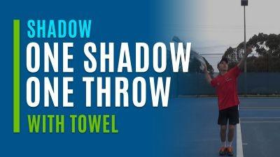 One Shadow, One Throw (With Towel)