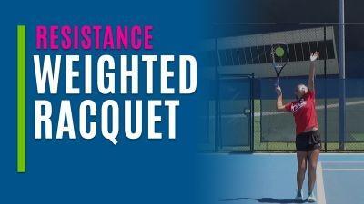 Weighted Racquet Serving