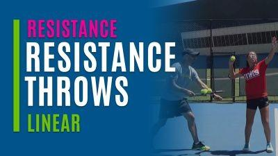 Resistance Throws (Linear)