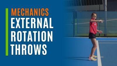 External Rotation Throws