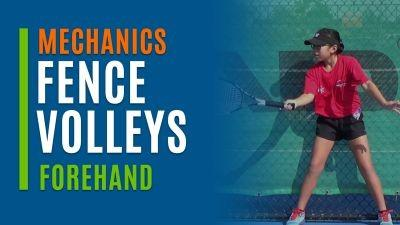 Fence Volleys (Forehand)
