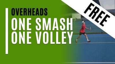 One Smash. One Volley