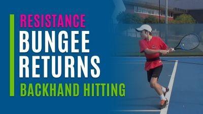Bungee Returns (Backhand Hitting)