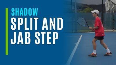 Split and Jab Step