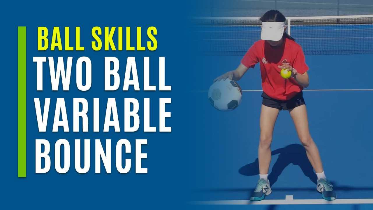 Two Ball Basketball Bounce Variable