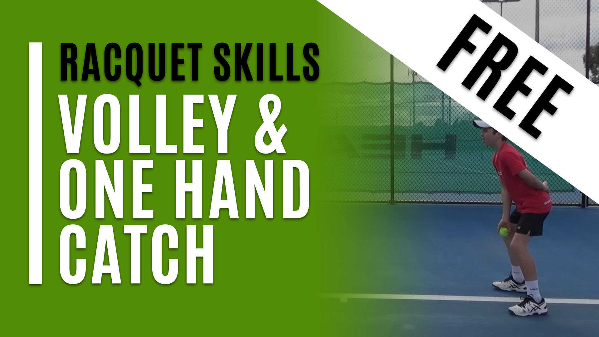 Volley and One Hand Catch