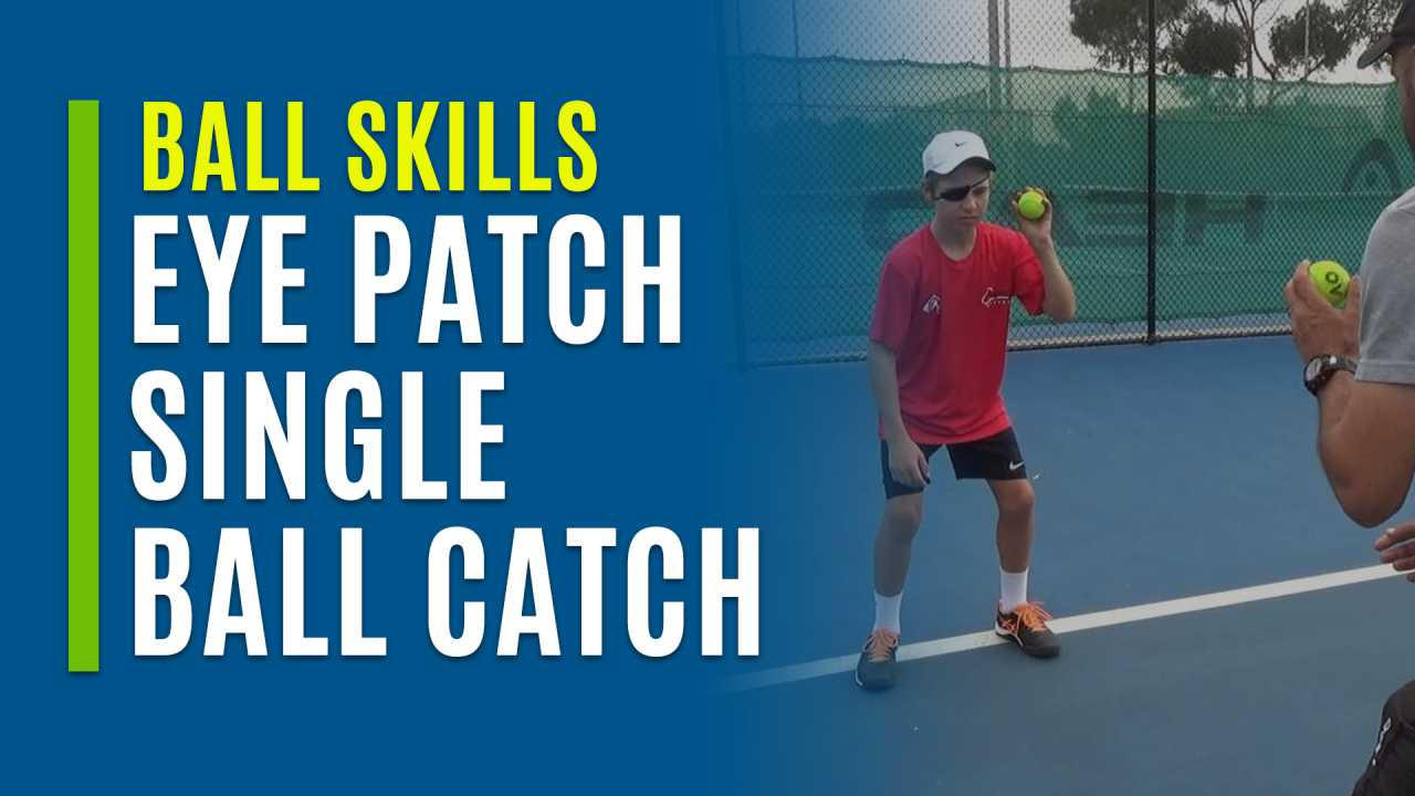 Eye Patch Single Ball Catch