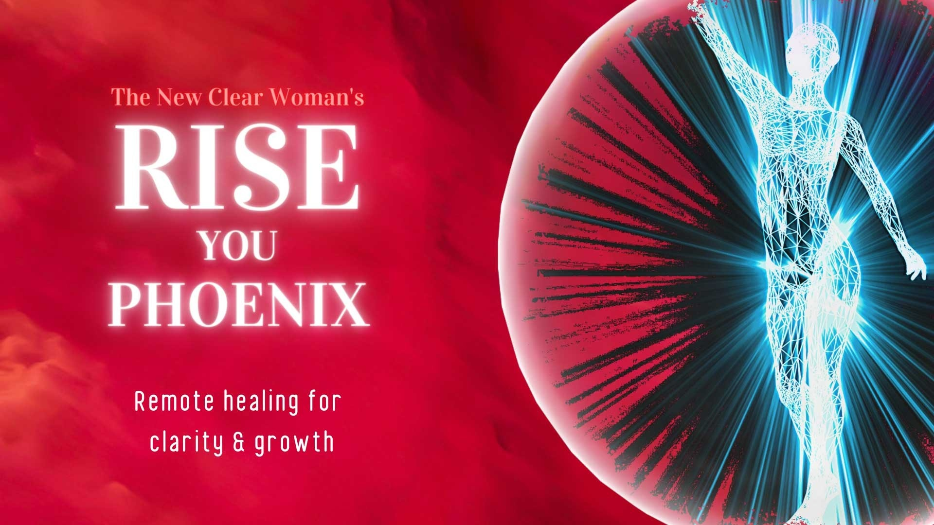 Rise you Phoenix. Clarity & growth distance healing program by Udumbara Gesu, an inner clarity expert