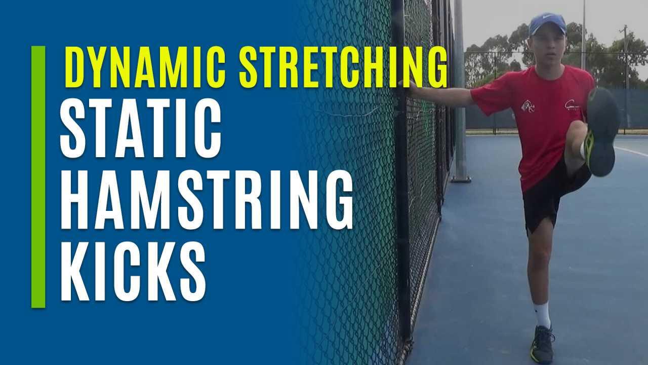 Static Hamstring Kicks