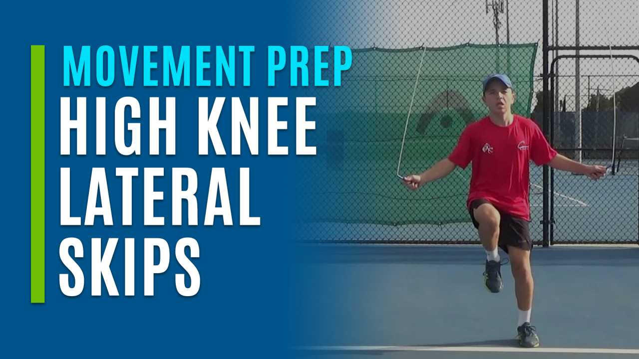 High Knee Lateral Skips